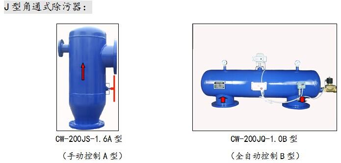 角通式除污器,手动反冲洗过滤器,全自动压差角通除污器